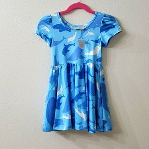 Charlie's Project NWT dolphins and whales dress